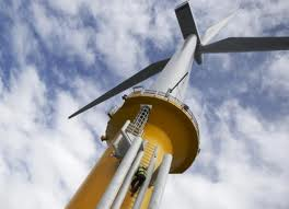 Der er ikke flertal for SF's foreslag, om at Aarhus Kommuen skal købe andele i vindmølleparken i Århusbugten. Arkivfoto:  Siemens