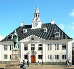 Solidarisk Samling vil gerne have plads i byrådssalen i det gamle rådhus. Foto: Randers Kommune