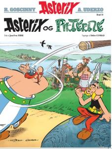 Forsiden på det nye Assterix-album, der allerede kan købes på dansk fredag. Illustation: Egmont Serieforlaget