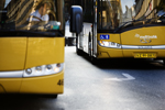 Midttrafik mener, at den øgede kontrol i bybusserne giver flere solgte billetter. Foto: Midttrafik
