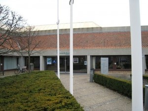 Norddjurs Kommunes rådhus i Grenaa. Foto: Norddjurs Kommune