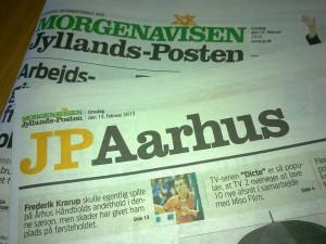 JP Aarhus offentliggør i dag en meningsmåling, der er væsentlig forskellig fra den, som lokalradioen GO!FM offentliggjorde i torsdags. Foto: Nyhedsjagten