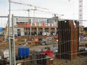 Det nye Skejby Sygehus - officielt Aarhus Universitetshospital, har et anlægsbudget på 6,4 milliarder kroner.