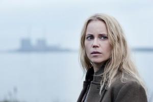 Saga (Sofia Helin) får nye kolleger i tredje sæson af krimiserien af Broen. Foto:  Carolina Romere